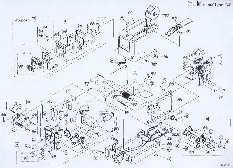 胶纸机 日本胶纸机 ELM M-1000胶纸机 ELM胶带切割机