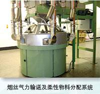 **氣力輸送及柔性物料分配系統