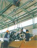 電動自行小車輸送系統