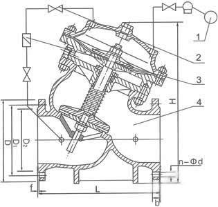 F745X遥控浮球阀