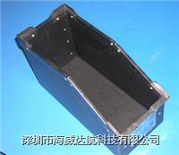 中空板周转箱 中空板斜口元件盒 防静电斜口元件盒