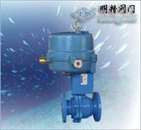 電動法蘭襯氟O型球閥 Q941F-16