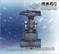 J61H鍛鋼截止閥 J61H-800LB