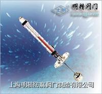 磁性翻柱液位計/上海明精防腐制造有限公司021-63176597 地下型磁性翻柱液位計