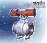 SMQ644(45)型氣動三通球閥