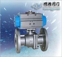 上海氣(電)動球閥 Q641F
