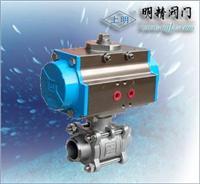 SMQ661F氣動三片式焊接球閥 SMQ661F