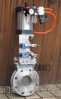 不銹鋼氣動刀閘閥 開關閘閥 PZ673W-16P