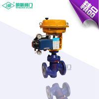 精小型氣動薄膜雙座調節閥 ZJHN-16