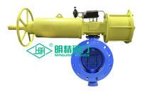 氣動旋球閥 雙向流硬碰硬密封 GWXDF6204H-16C