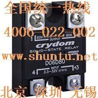 D06D80进口Crydom快达SSR大功率直流固态继电器D06D100 D06D80大功率直流固态继电器D06D100