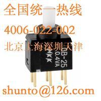 日本进口按钮开关型号GB25AP点动按钮开关GB-25微型按钮开关NKK开关现货 GB25AP