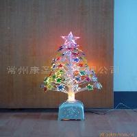 七彩五角星光纖樹