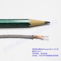 SUS304不銹鋼編織網屏蔽熱電偶測溫線