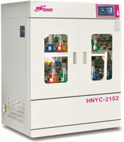 触摸式彩屏立式恒温培养振荡器 HNYC-2102