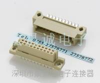2.54HCCI接插件 接插件觸點數:20、32、48、64、96、120、128、160