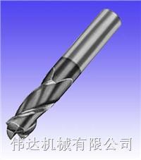 美国MICRO 100 AECM系列通用圆鼻刀2/3/4槽有镀层 AECM系列