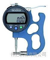 TPD-618J 0~12mm数显数字厚度表日本TECLCOK得乐 TPD-618J