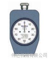 手持式邵氏橡胶硬度计日本TECLOCK A/D/E