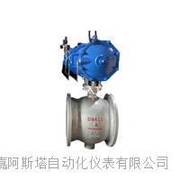 气动侧装式偏心半球阀 PBQ640H
