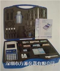 便攜式水質應急檢測箱水質采樣應急分析檢測