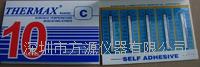十格C型 熱敏試紙132-270° 英國THERMAX溫度美 不可逆溫度試紙```