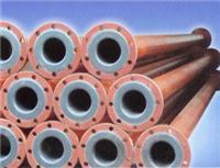 PTFE推(擠)壓管緊襯直管 PTFE緊襯直管及管配件