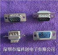 濾波連接器 DB15 VGA  公 焊杯 點擊進入規格書
