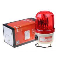 南州警示燈LTE-1101J旋轉式報警燈帶蜂鳴器聲光報警器
