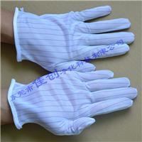 东莞防静电双面条纹手套 多种