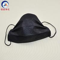 东莞一次性口罩厂家 批发黑色三层无纺布口罩