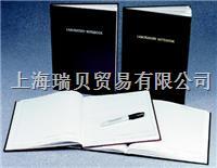 美國Nalgene,6301-4000,實驗室筆記本,普通紙張頁面;聚乙烯封面 6301-4000,絳紫