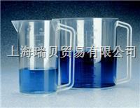 美國 Nalgene,1223-3000,3000ml, 帶柄帶刻度燒杯,PMP 1223-3000,3000ml,PMP
