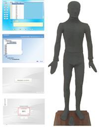 多媒體人體點穴儀考試係統 ZKMAW170B