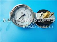 **60MM背式帶支架0-1MPA氣壓表,壓力表,面板安板氣壓表