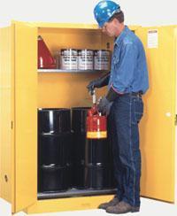 双油桶安全储存柜 899100,899160,29760