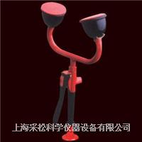 双口台式洗眼器 手柄型,CS-2704