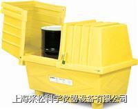 两桶式敞盖式防漏箱 Enpac,2038-YE,116cmH