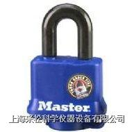 包塑防风雨挂锁 Master lock,311D,312D,315D,25mm短锁钩