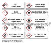 JUSTRITE熱塑類危險品存儲安全櫃