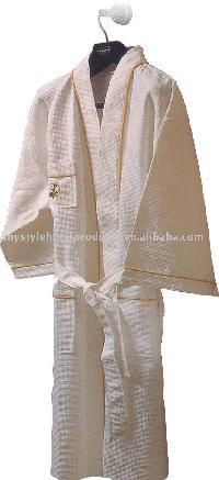 bath robe/hotel bathrobe/waffle bathrobe