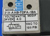 實際操作;美國MAC小三通電磁閥111B-611JD/DC24V