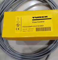 turck緊湊型流量傳感器6870363,直接出線 FCS-G1/2A4P-VRX/24VDC