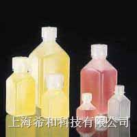 美國Nalgene 2018方形瓶,高密度聚乙烯;聚丙烯螺紋蓋 2018