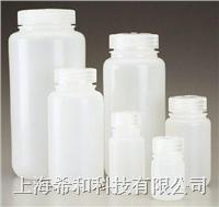 美國Nalgene 2104廣口瓶,高密度聚乙烯;聚丙烯螺紋蓋 2104