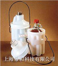 美國Nalgene6501安全瓶子運載容器,低密度聚乙烯;聚碳酸酯蓋;環氧樹脂外套手柄 6501