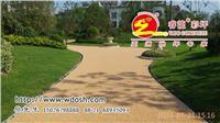 透水彩色米石膠粘劑,膠粘石路面鋪裝 上海睿龍品牌