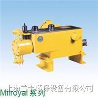 Milroyal 系列馬達驅動液壓計量泵 Milroyal 系列