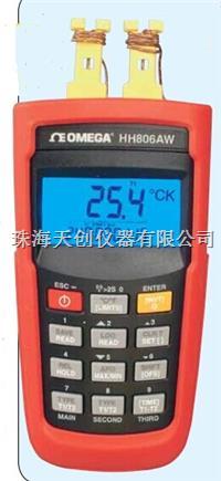 美國OMEGA原裝進口HH806AW無線傳輸型雙通道數據記錄器溫度計 HH806AW