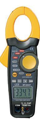 真有效值雙注塑1000A交直流鉗形表DT-3347香港CEM總代理 DT-3347